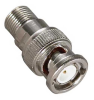BNC Male To F Type Female Adapter -- 2702-SF-06