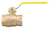 Lead Free* 2-Piece, Full Port, Brass Ball Valve -- LFFBV-4, LFFBVS-4