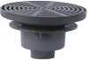 Area Drain with 15 in. Round Adjustable Top -- FD-360 -- View Larger Image