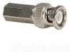 RG6 BNC Male Twist-on Connector -- 2702-SF-12