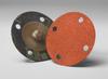 3M Cubitron 777F Coated Ceramic Quick Change Disc - 120 Grit - 2 in Diameter 4 Vacuum Holes - 28070 -- 051141-28070 - Image