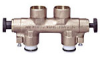 Bronze Culligan Style A By-pass Valve -- Divertaflo 343318 Series
