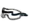 Stryker Safety Goggles, Chemical Protection, Black Frame -- 2310AF