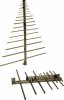 Log Periodic Antenna -- Model SAS-512F-4