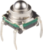 Spherical Actuator Tactile Switches -- KSJ Series -- View Larger Image
