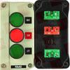 SHAMROCK RC-3P331 ( 3 STA BOX RIGHT STOP LEFT PLAS ) -Image