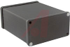 Enclosure; Extruded Aluminum; Plastic; 0.06 in.; Black Anodized -- 70166732