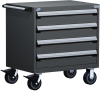 Heavy-Duty Mobile Cabinet -- R5BDG-2804 -- View Larger Image