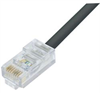 Cat6 Outdoor Patch Cable, RJ45/RJ45, Black, 225.0 ft -- TRD695OD-225 -- View Larger Image