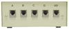 4-Way RJ11/12 Manual Switch Box -- 85-877