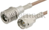SMA Male to QMA Male Cable 72 Inch Length Using RG316 Coax -- PE38273-72 -Image