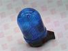 EUCHNER 213 500 00 ( BEACON, PERMANENT BEACON, WM 12-240 VAC / VDC, BLUE, WALL MOUNTING, DIAMETER: 57 MM, WIDTH: 57 MM, HEIGHT 107 MM, DEPTH: 67 MM ) -Image