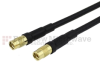 MMCX Jack to MMCX Jack Cable RG174 Coax in 24 Inch -- FMC2424174-24 -Image