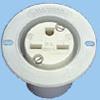 NEMA 6-15 Flanged Outlet -- 88030450 -Image