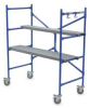 Rolling Scaffold,H 4 Ft -- 4ZY17