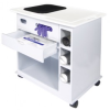 ProGard NU-96 Polypropylene Laboratory Supply Cart - Image