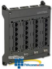 Leviton Twist and Mount Patch Panel with 6 CAT 5e Ports.. -- 476TM-652