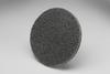 3M Scotch-Brite XL-UR Unitized Silicon Carbide Medium Deburring Wheel - Fine Grade - Quick Change Attachment - 3 in Diameter - 17189 -- 048011-17189 - Image