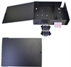 Fiber Enclosure Wall Mount with 2 FSP Series Sub panel openings -- FE-WM12PP -Image