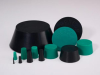 Green Neoprene Plugs -- GN130 -Image