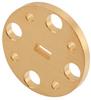 WR-15 Waveguide Shim, UG-Cover Round flange, 2mm Copper -- PEW15FS2 -Image