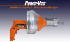 Power-Vee ™ - Professional Drain Cleaner