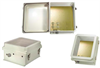 14x12x7 Inch 120 VAC Weatherproof Windowed Enclosure with Heating System -- NBW141207-1H0 -Image