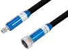 VNA Ruggedized Test Cable 2.92mm NMD Female to 2.92mm Male 40GHz 24 Inch Length, RoHS -- PE3VNA4007-24 -Image