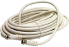 Steren 100' White RG6 UL Coaxial Cable Assembly -- BL-215-400WH
