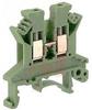 UK 2.5 N Green IEC Screw Clamp TerminalBlock - 30-12 AWG -- 70169348