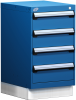Stationary Compact Cabinet with Partitions -- L3ABD-2801L3D -Image
