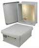 14x12x6 Inch 120 VAC Weatherproof Enclosure -- NBC141206-100 -Image