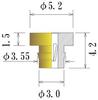 Medium Size Socket Pin -- PDM2081-42-GG -Image