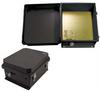 14x12x7 Inch 120VAC Black Weatherproof Enclosure with Intergral Heating System -- NBB141207-1H0 -Image