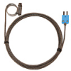 Digi-Sense Type-T Hose Clamp Probe 1.25 - 2.25 OD Mini Conn GRD 10Ft SS Braid Cable -- GO-08469-44