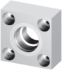 Square Flanges - Threaded Flanges -- 3000 In-line ORB - Image