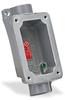 Haz-Loc Splice/Device Box: single gang, (2) 1 inch hubs -- FXB-6 -- View Larger Image