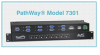 8-to-1 DB9 Switch w/Contact Closure -- Model 7301 -Image