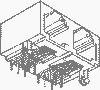 Input-Output Connectors, Modular Jack Series, Modular Jack, Multiple Port, # Contacts/ Port (Loaded)=16 -- 94911-002MLF - Image