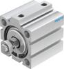 Short-stroke cylinder -- ADVC-50-25-A-P-A -Image