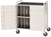 Bretford Basics Pre-Assembled Notebook Storage Cart.. -- LAPTG15ESA-GM