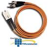 Leviton Multimode Fiber Optic Patch Cord - ST to SC -- 5H200-M