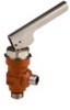 Shut-off Valve, , quick closing oil drain valves for Refrigerants -- QDV - Image