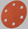 3M Cubitron 777F Coated Ceramic Quick Change Disc - 80 Grit - 3 in Diameter 6 Vacuum Holes - 28067 -- 051141-28067 - Image