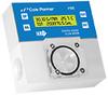 Cole-Parmer Digital Paddlewheel Flowmeter, 0.04 to 5 GPM, PP, 4-20mA, w/ RTD -- GO-32755-35 - Image