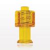 Vented Universal Luer Lock Cap, Yellow -- 65312 -Image