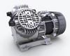 Gas and Vapor Vacuum Pump -- N 035.3... -Image
