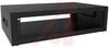 Rack, Desk Top; 16 ga. Steel; 21 in.; 9in.; 17.5 in.; 19 in.; Black Textured -- 70165474