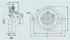SBLF 2-Bolt Flange Units -- SBLF20GMM
