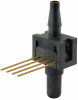 24PC Series, uncompensated/unamplified, differential, 0.5 psi 1x4 SIP 15,2 mm [0.60 in] long, barbed port -- 24PCEFB6D -Image